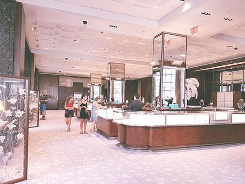 Tienda Tiffany en la Quinta Avenida. Foto de AHM