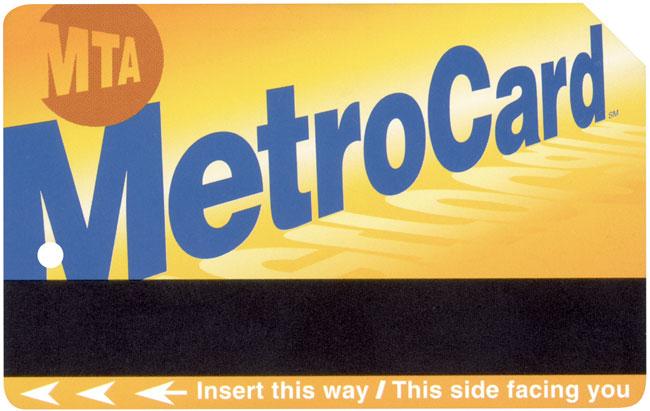Tarjeta Metrocard