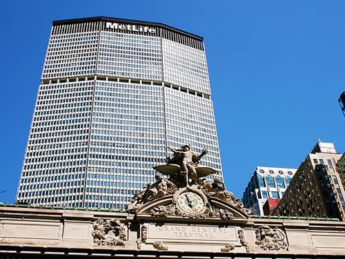 Metlife Building tras Grand Central Terminal PX
