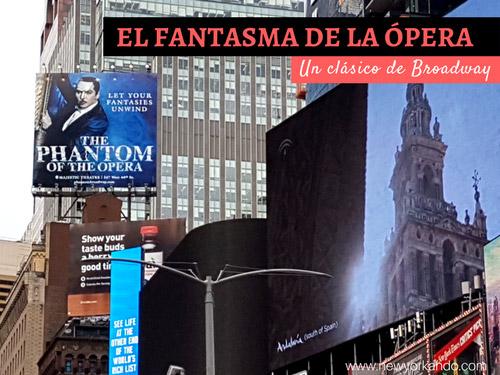 El Fantasma de la Ópera, musical clásico de Broadway - Foto de AHM