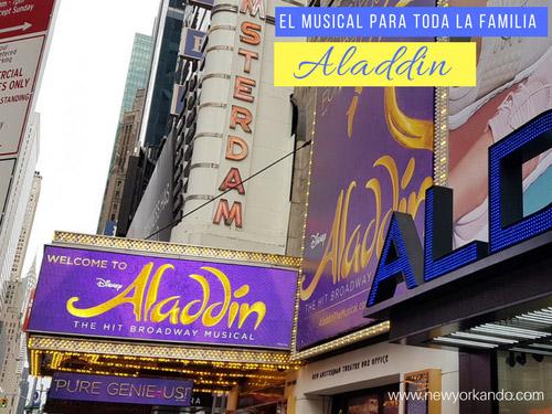 Aladdin, el musical de Broadway para toda la familia. Foto de AHM