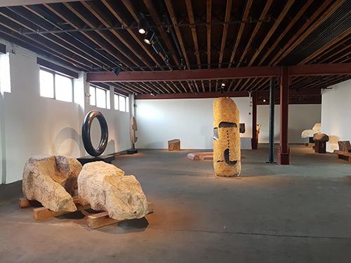 Galerías del primer piso del museo de Noguchi en Nueva York - Foto de Andrea Hoare Madrid