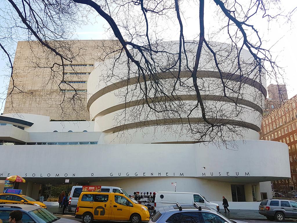 Fachada del Museo Solomon R. Guggenheim - Foto de Andrea Hoare Madrid
