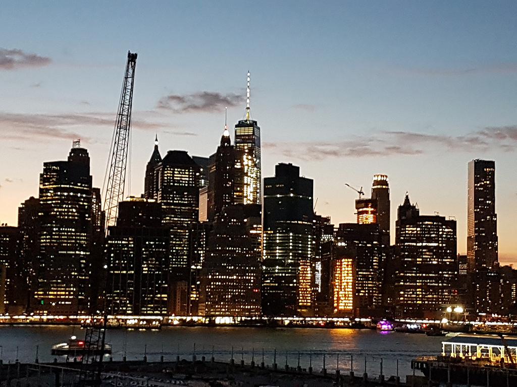 Panorámica de Manhattan desde el mirador de Brooklyn Heights - Foto de AHM