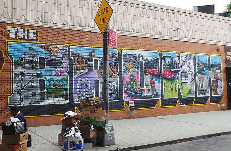 Foto Graffiti The Bronx de Montserrat Boix / CC BY-SA (https://creativecommons.org/licenses/by-sa/4.0), vía Wikimedia disponible en https://commons.wikimedia.org/wiki/File:The_Bronx_Graffiti.jpg