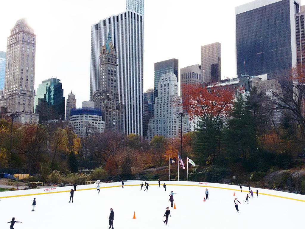 Pista de patinaje sobre hielo en Central Park: Wollman Rink - Foto de AHM
