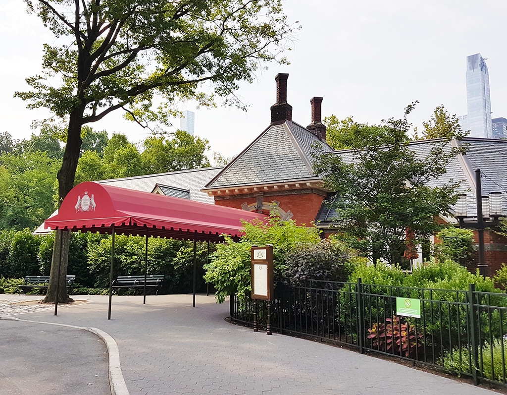 Restaurant Tavern on the Green en Central Park West - Restaurant que aparece en los Cazafantasmas - Foto de AHM