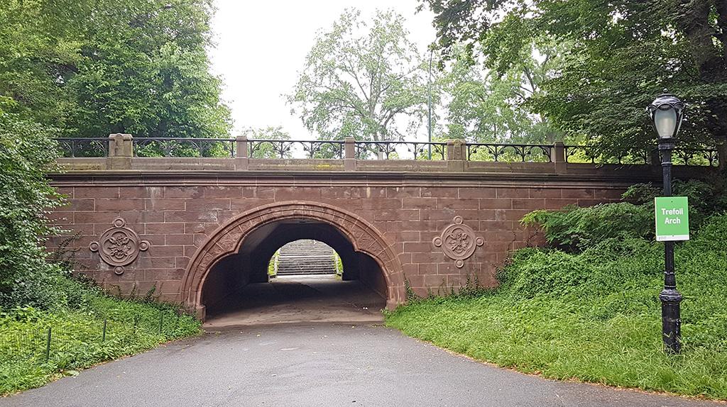 Trefoil Arch Central Park - Foto de AHM