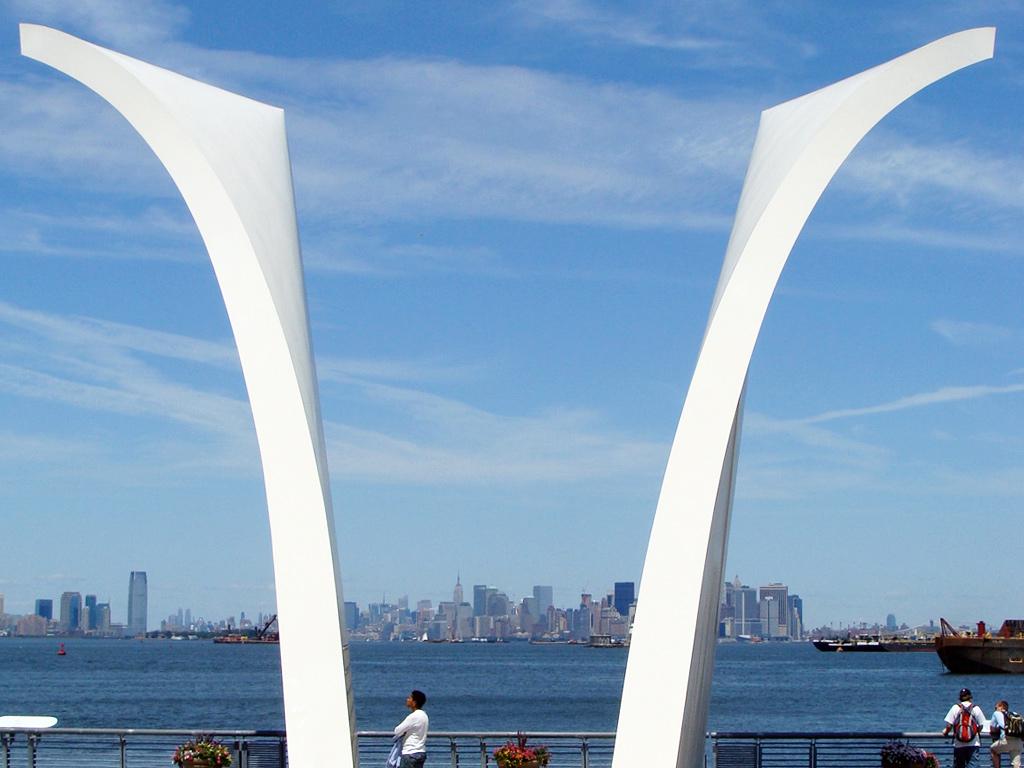 Postcards, memorial del 11 de septiembre en Staten Island - Foto de AHM