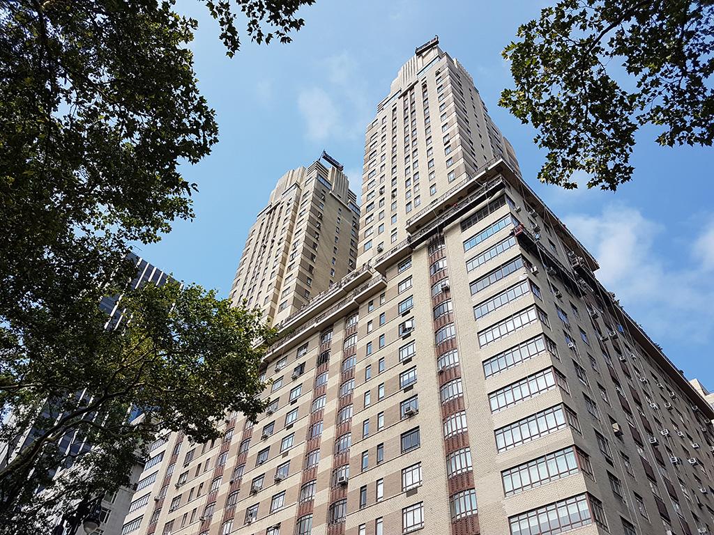 Edificio donde residía el personaje de Sigourney Weaver en los Cazafantasmas, 55 Central Park West - Foto de Andrea Hoare Madrid