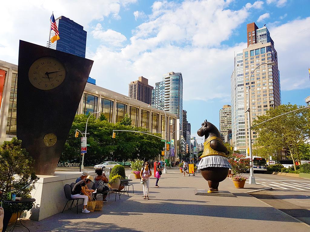 Vista general del Lincoln Center en el Upper West Side - Foto de Andrea Hoare Madrid