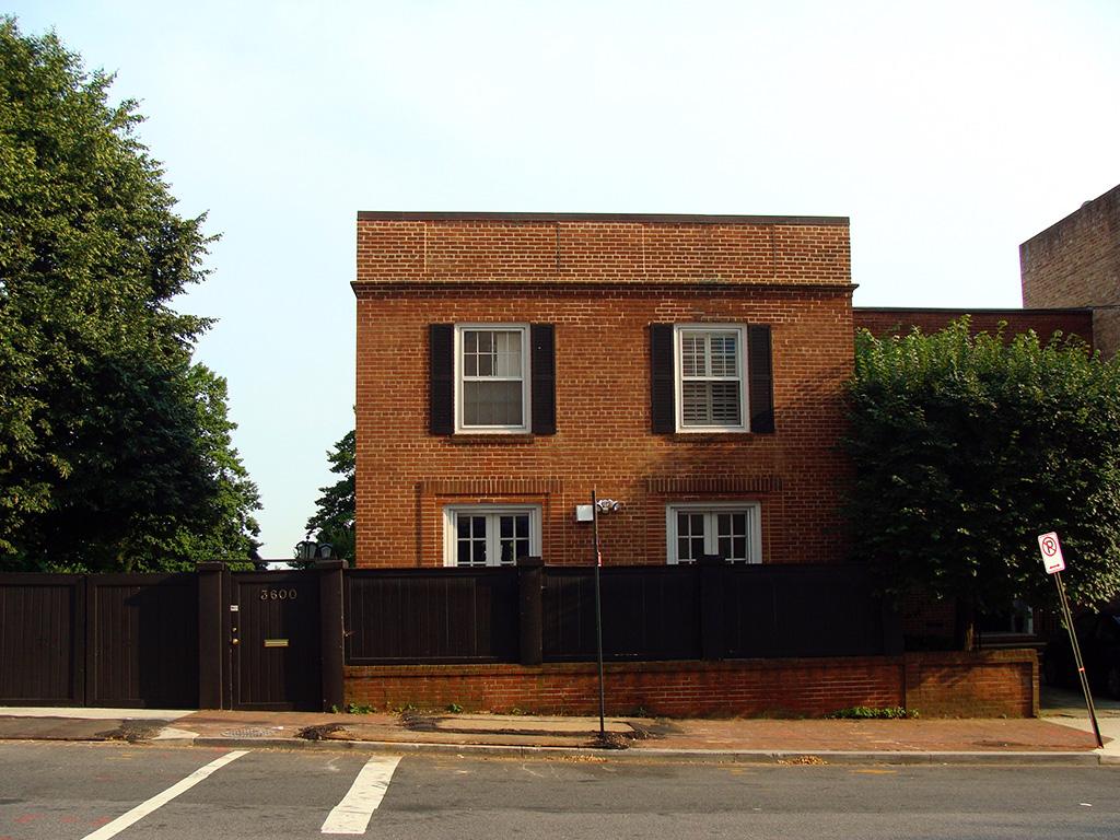 Casa del Exorcista en Georgetown (3600 de Prospect Street Northwest) - Foto de Andrea Hoare Madrid