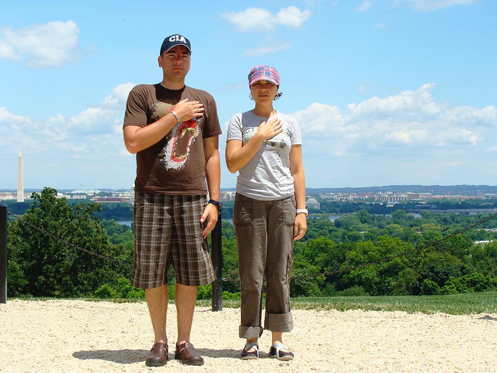 Hermanos Hoare en Washington (colina del cementerio de Arlington)
