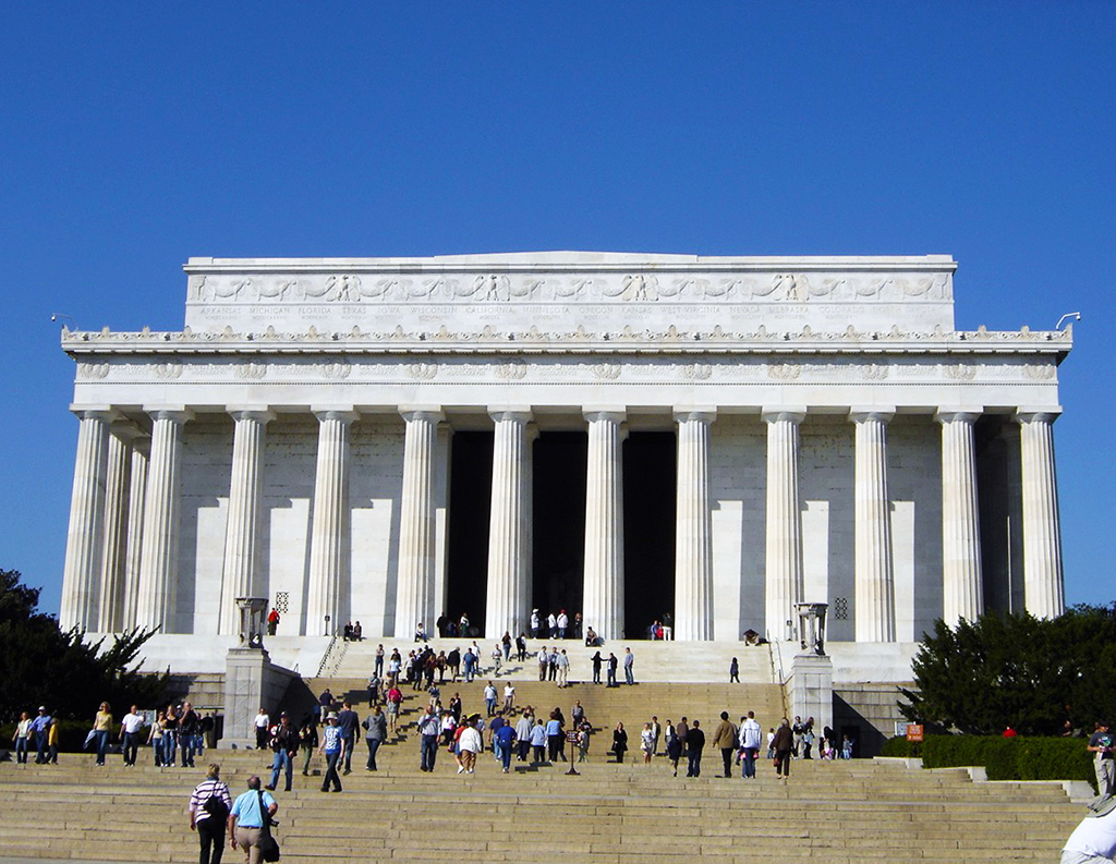 Lincoln Memorial en el National Mall de Washington DC - Foto de AHM