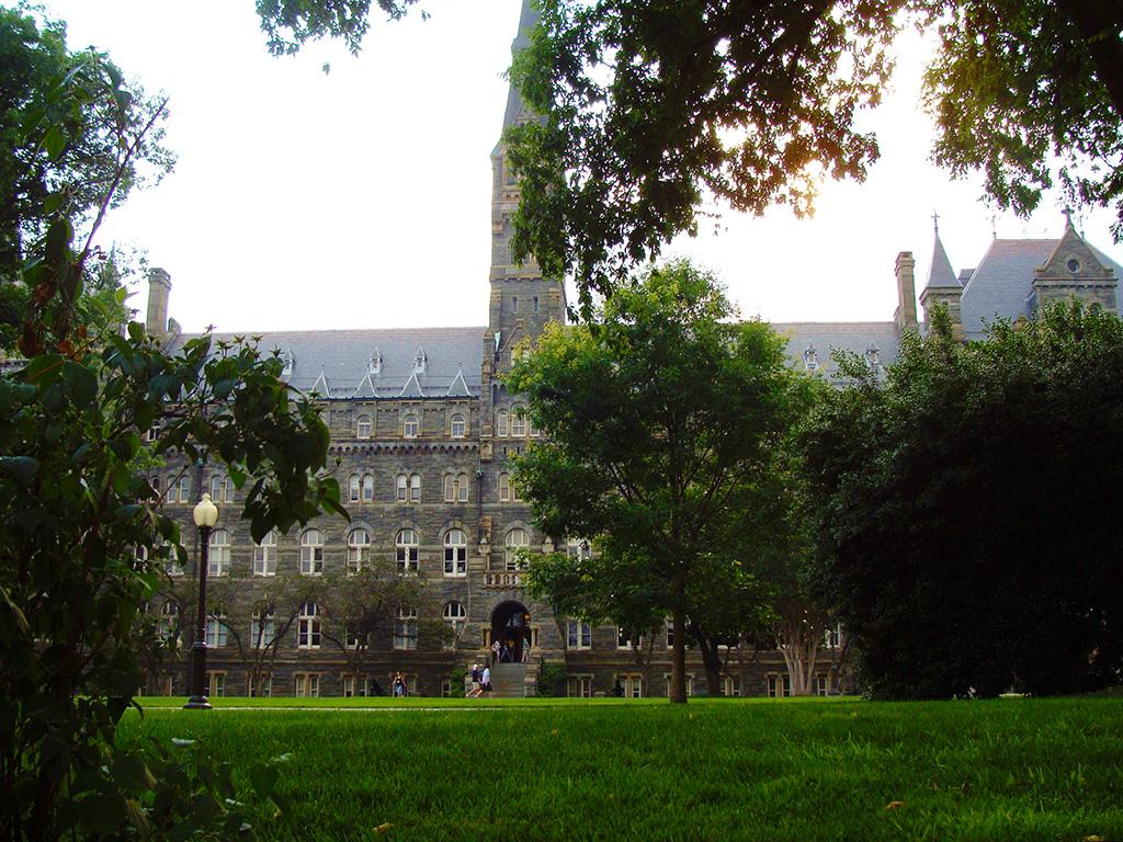 Sede de la Universidad de Georgetown en Washiington DC - Foto de AHM