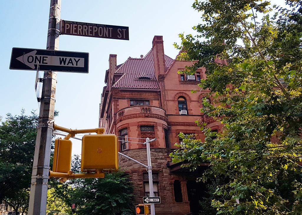 Elegante casona en Pierrepont Street en el barrio Brooklyn Heights - Foto de Andrea Hoare Madrid