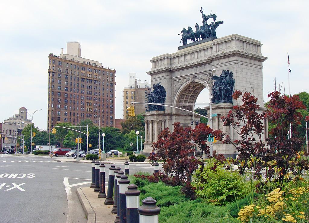 Grand Army Plaza en Prospect Heights - Foto de AHM