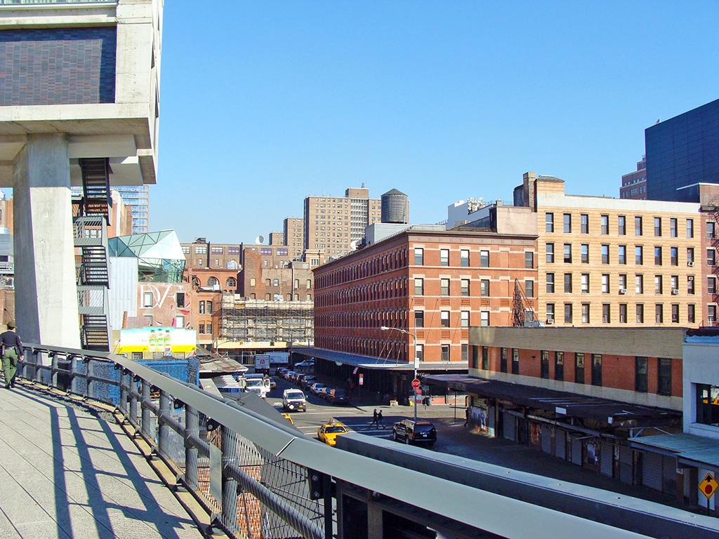 Meatpacking District visto desde High Line Park - Foto de Andrea Hoare Madrid