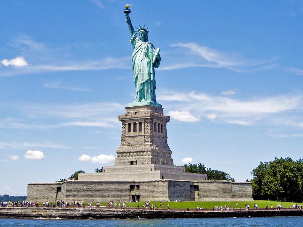 Estatua de la Libertad vista desde el ferry Statue Cruises - Foto de Andrea Hoare Madrid