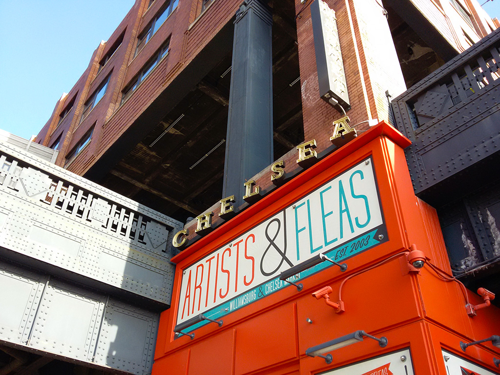 Entrada del Chelsea Market en Midtown Manhattan - Foto de Andrea Hoare Madrid