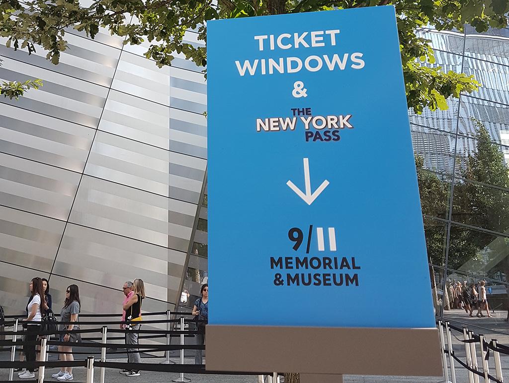 Acceso preferencial en el Museo del 9/11 con el New York Pass - Foto de AHM