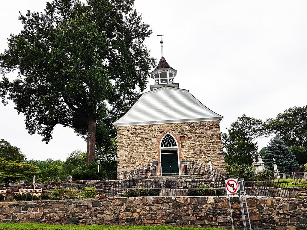 Old Dutch Church es la iglesia más antigua del Estado de Nueva York aún en pie. Foto de Andrea Hoare Madrid