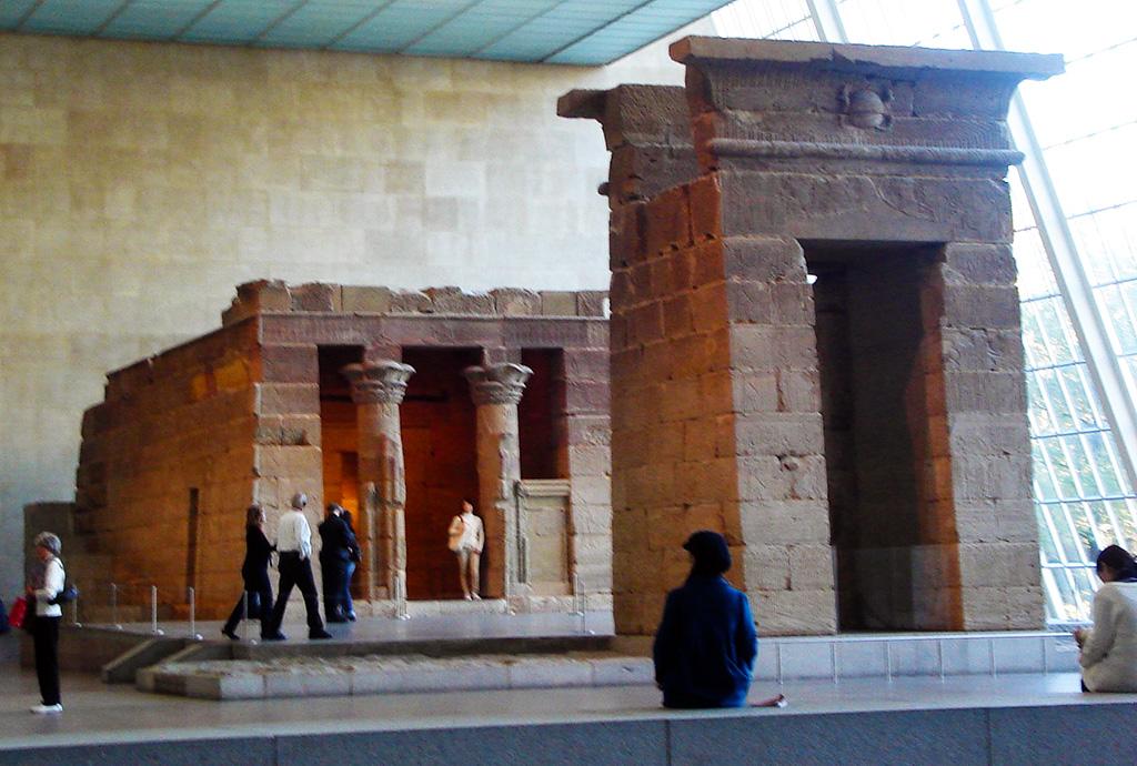 Templo de Dendur en el Museo Metropolitano de Arte de Nueva York - Foto de Jorge Hoare Madrid