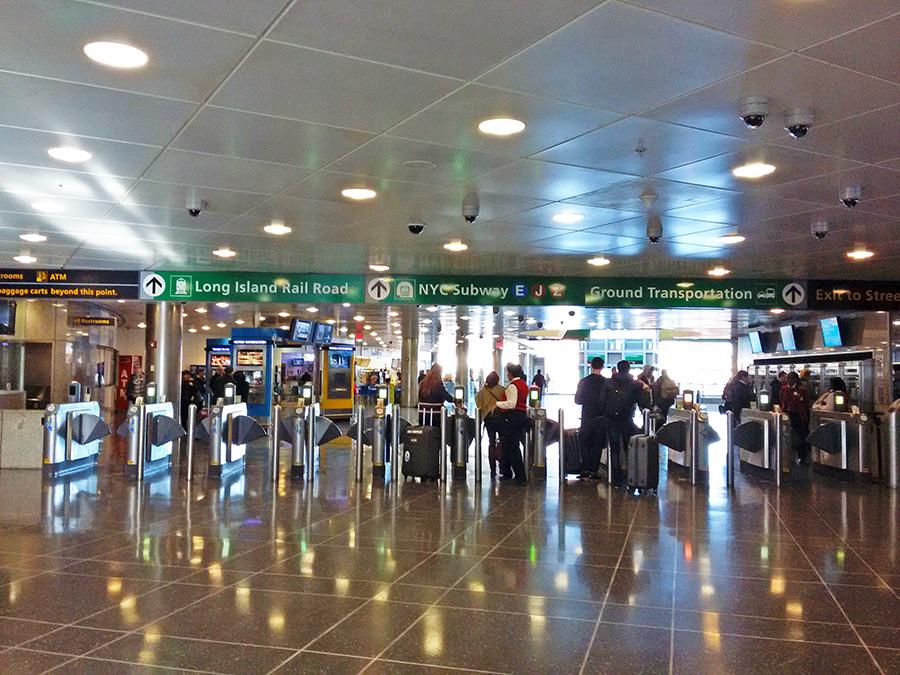 Estación Jamaica, una de las 2 terminales del Airtrain de JFK para conectar con el metro de Nueva York o el LIRR - Foto de Andrea Hoare Madrid