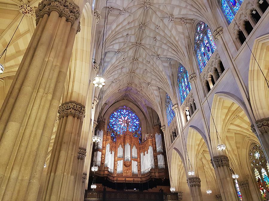 Órgano de la Catedral de San Patricio de Nueva York - Foto de Andrea Hoare Madrid