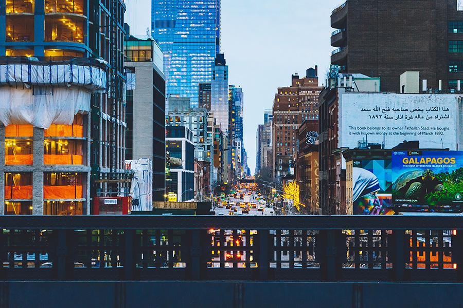 Mirador de Manhattan en el Highline Park. Foto de Ostap Senyuk en Unsplash