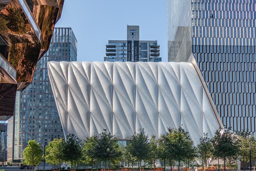 Exterior del centro cultural The Shed en Hudson Yards - Foto de Lewis J Goetz en Unsplash