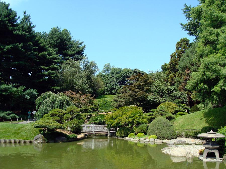 Jardín Japonés en el Jardín Botánico de Brooklyn. Foto de Andrea Hoare Madrid