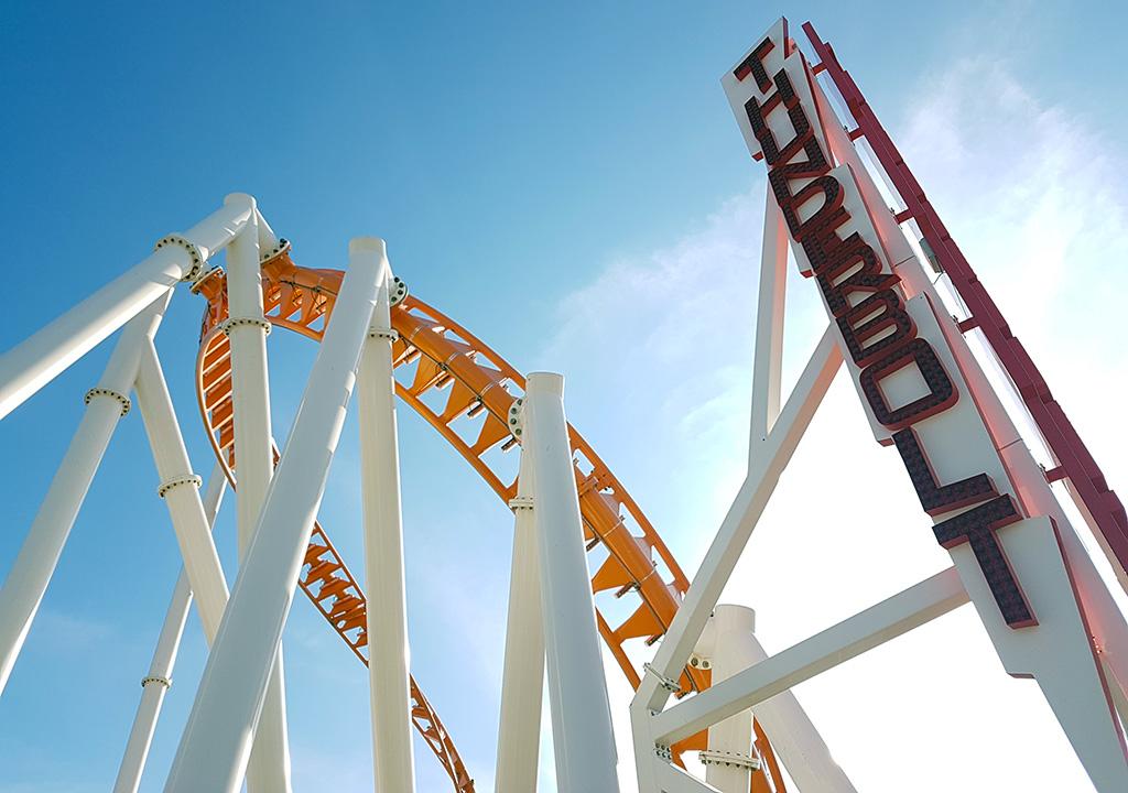 Thunderbolt, Montaña Rusa de Luna Park en Coney Island - Foto de Andrea Hoare Madrid