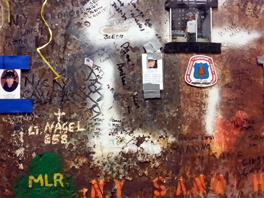 La última columna que fue retirada de la zona cero en el Museo del 9/11 - Newyorkando - Foto de Andrea Hoare Madrid