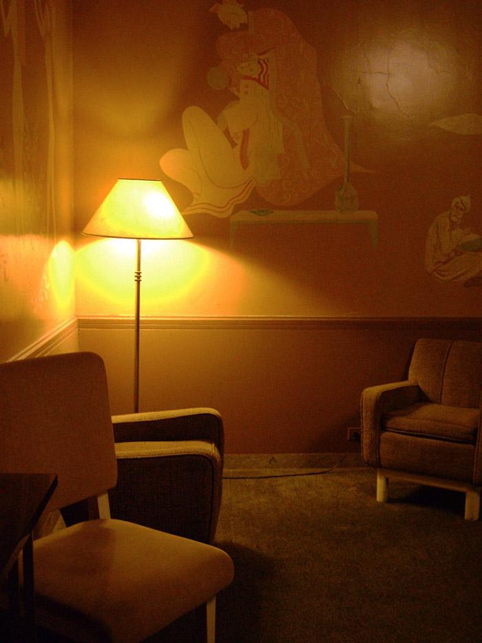 Detalle del interior de un camerino del Radio City Music Hall durante la visita guiada. Foto de Andrea Hoare Madrid