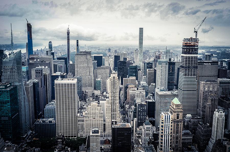 Foto de rascacielos al sur de Central Park en Midtown Manhattan - Foto de  Leonhard Niederwimmer en Unsplash