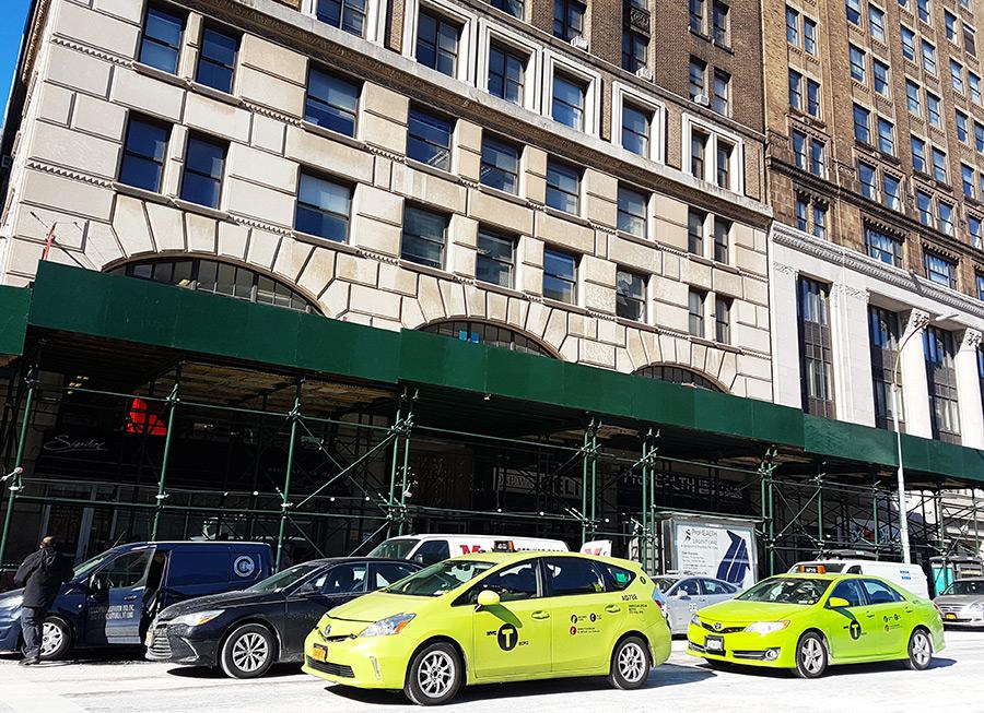 Taxis verdes de Nueva York en los distritos fuera de Manhattan - Foto de AHM