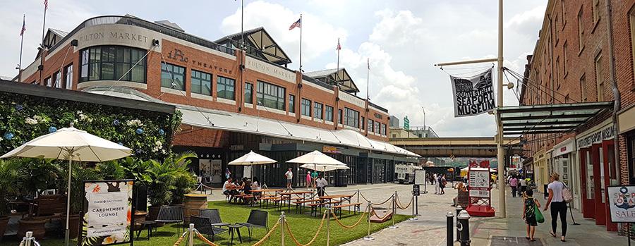 Fulton Market en South Street Seaport - Foto de AHM
