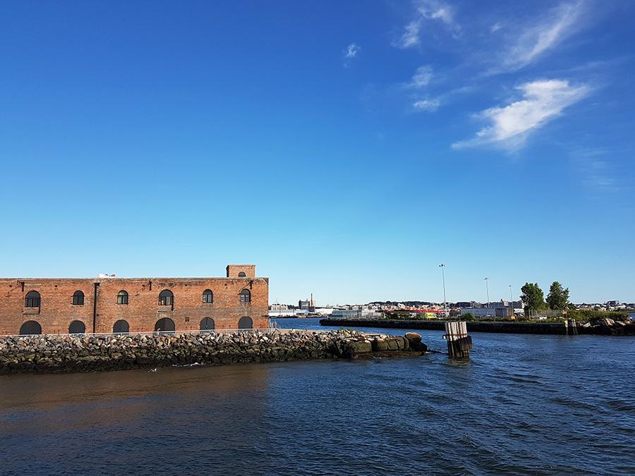 Antiguos muelles y bodegas de Red Hook en Brooklyn - Foto de Andrea Hoare Madrid