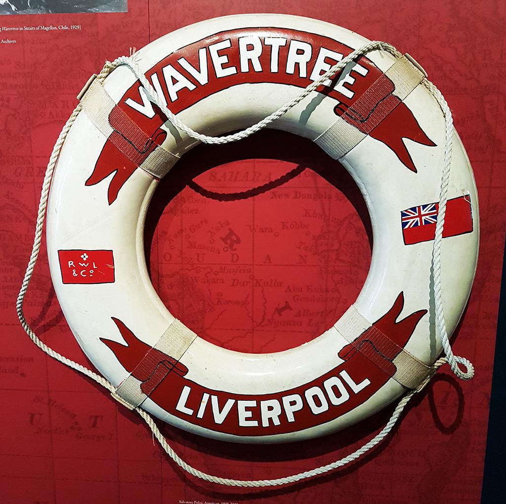 Salvavidas del buque Wavertree, parte de la colección estable del Museo South Street Seaport - Foto de Andrea Hoare Madrid -