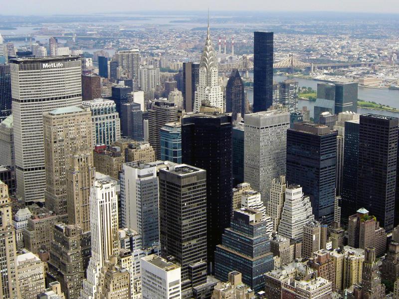 Rascacielos de Manhattan vistos desde el mirador del Empire State - Foto de Andrea Hoare Madrid