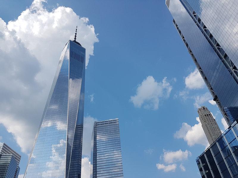 Contrapicado del One World Trade Center - Foto de Andrea Hoare Madrid