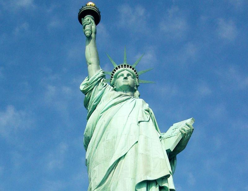 Plano medio de la Estatua de la Libertad - Foto de Andrea Hoare Madrid