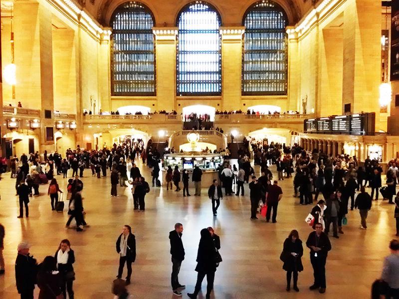 Main Concourse (lobby principal) de Grand Central Terminal en Manhattan - Foto de Andrea Hoare Madrid