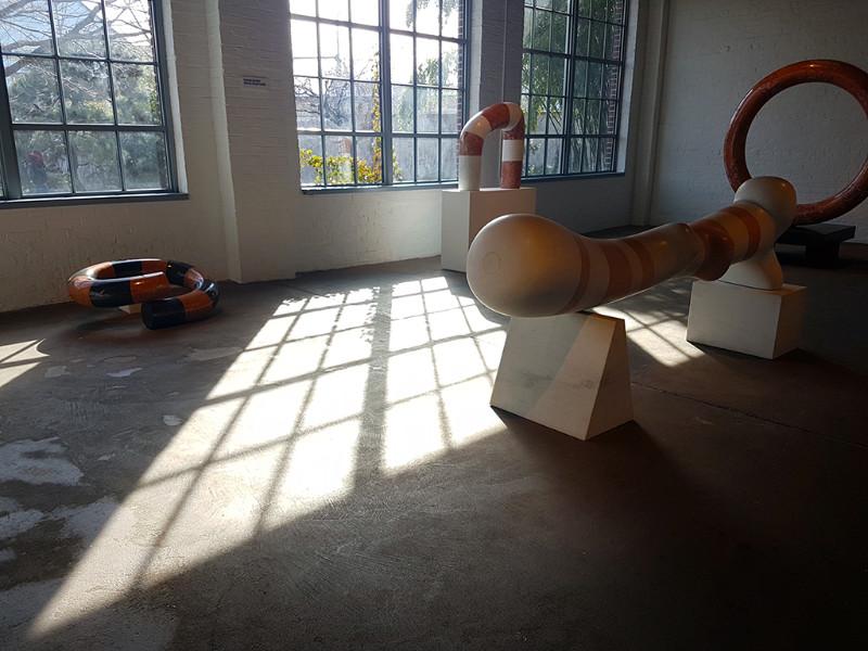 Sala interior del Museo de Isamu Noguchi en Staten Island - Foto de Andrea Hoare Madrid