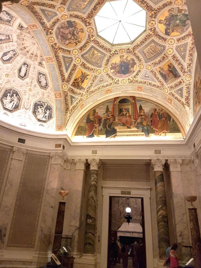 Hall de entrada de The Morgan Library and Museum - Foto de Andrea Hoare Madrid