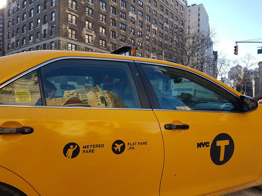 Taxis de Nueva York con tarifa plana a JFK - Foto de AHM