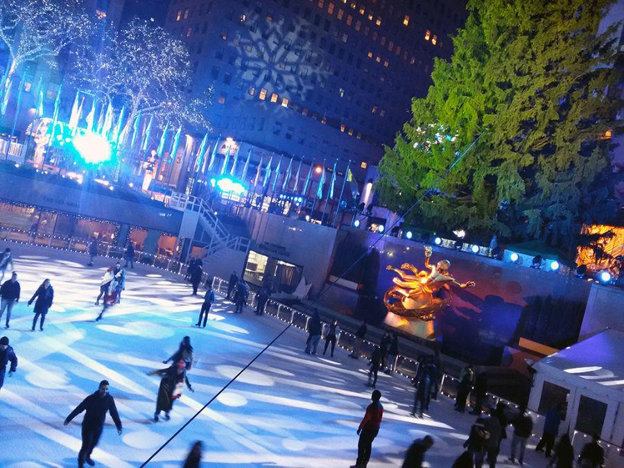 Pista de Patinaje sobre hielo del Rockefeller Center - Foto de Andrea Hoare Madrid